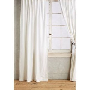 NWT Anthropologie Parker Tie-Top Curtain